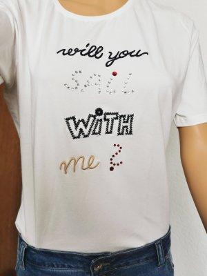 Shirt von BIBA mit Schriftzug im Vorderteil