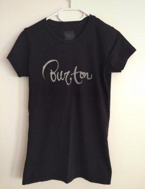Burton T-Shirt black-white