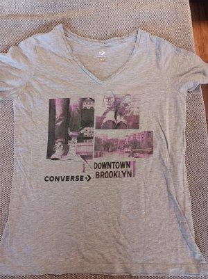 Converse T-shirt grigio chiaro