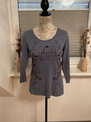 Shirt von edc Esprit in Größe XS in Blau