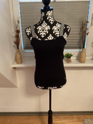 Esprit Basic topje zwart-wit Katoen