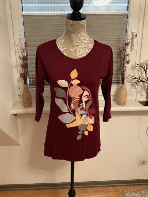 Shirt von Esprit in Größe XS in Bordeaux/Bunt