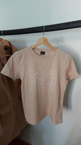 Gina Tricot T-Shirt oatmeal-beige