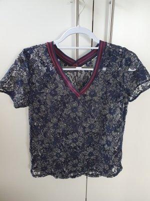 Gracia T-shirt bleu foncé