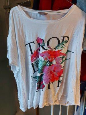 """Shirt von H & M in Gr. 3 XL """"Trop Love Live"""""""
