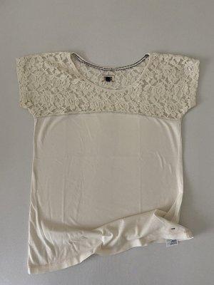 Hilfiger Denim T-shirt bianco sporco Cotone