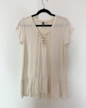 Shirt von I ma belle Größe S Creme Weiß