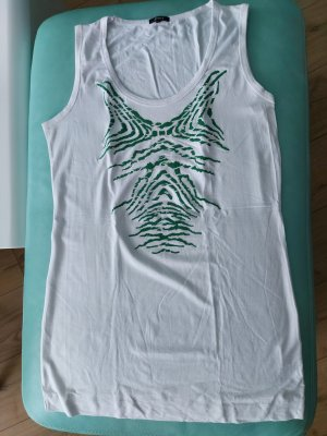 Jones Camicia lunga bianco-verde bosco