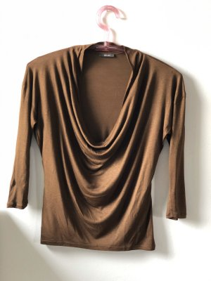 Joop! Cowl-Neck Shirt brown