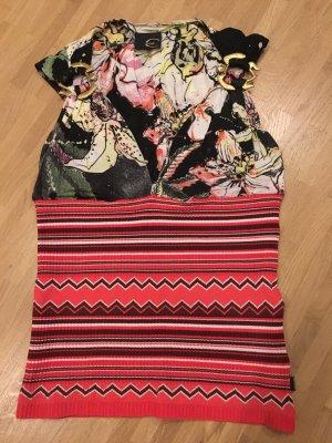 Just cavalli Batik Shirt brick red