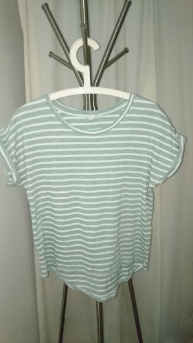 Oversized Shirt white-sage green