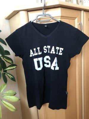 Madonna Shirt basique noir-blanc