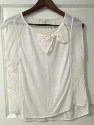 Maje Boatneck Shirt natural white