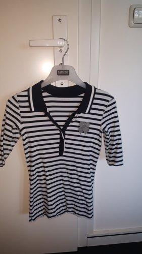 Marc Cain Polo Shirt white-black