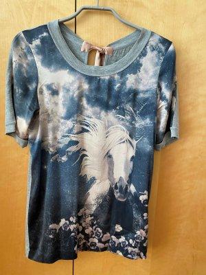 Marc Cain T-shirt multicolore Seta