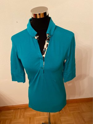 Marc Cain Polo Shirt multicolored cotton