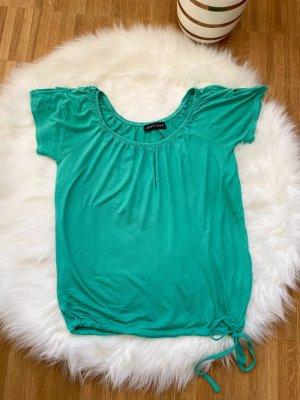 Melrose Oversized Shirt turquoise