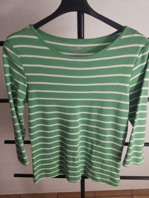 munich freedom Basic Shirt white-lime-green