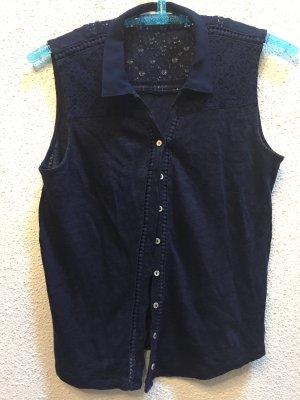 Naf naf T-shirt bleu foncé