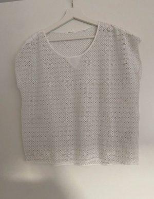 Opus Mesh Shirt white