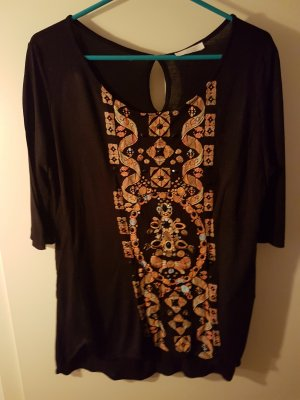 Promod Koszulka typu batik Wielokolorowy