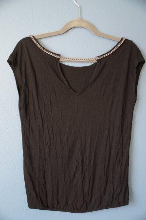* Shirt von Promod mit angenähter Gliederkette schöner Rücken**Größe 36/38