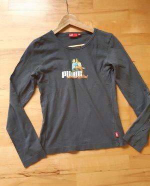 Shirt von Puma grau Gr.S langarm