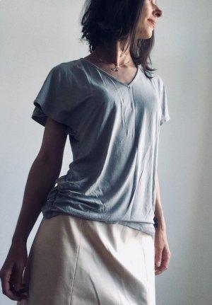 Ralph Lauren V-Neck Shirt grey-light grey