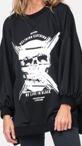 Religion Oversized shirt zwart-wit