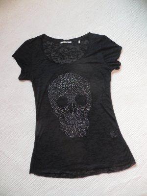 Shirt von Rich&Royal Totenkopf Gr. M