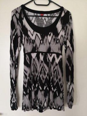 s.Oliver Shirt Tunic black-grey