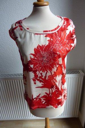 Saint Tropez Camiseta estampada rojo-blanco
