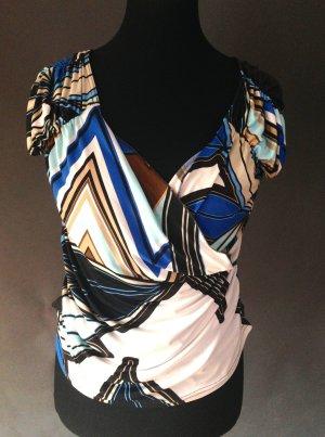 Sinéquanone V-hals shirt veelkleurig Polyester