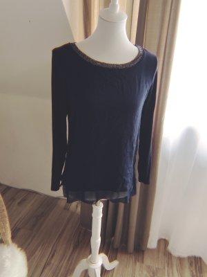 Street One Camisa tipo túnica azul oscuro-azul