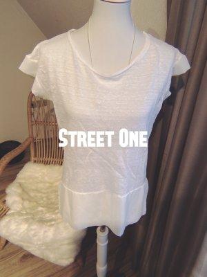 Street One Camisa tipo túnica blanco