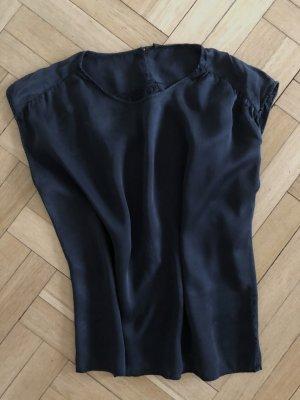 Shirt von Strenesse schwarz reine Seide