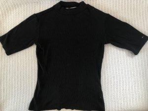 Tommy Jeans Maglia a collo alto nero Viscosa