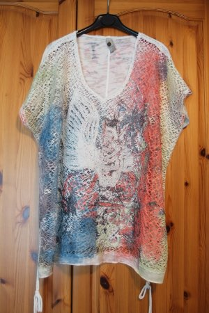Tredy Oversized Shirt multicolored cotton