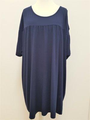 Ulla Popken Oversized Shirt dark blue
