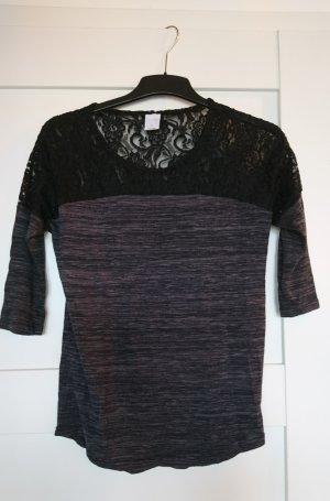 Shirt von VERO MODA - 3/4-Arm - Spitzendetail - Gr. S