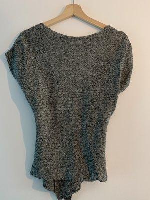 Zara Chemise côtelée gris