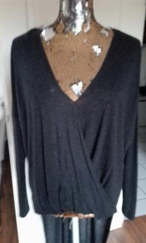 Zara V-Neck Shirt anthracite