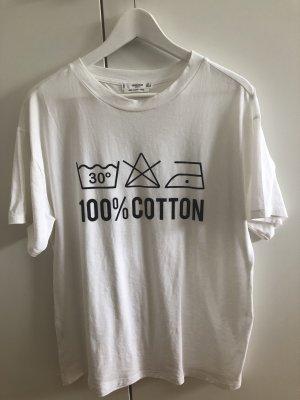 Shirt Waschanleitung