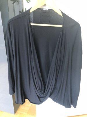 Tigha Waterval shirt zwart Katoen