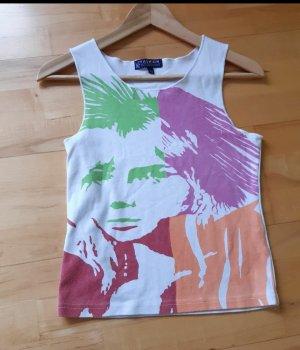 Shirt weiß mit Aufdruck Gr.S