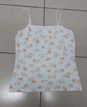 Shirt weiß mit Blumen Gr.S