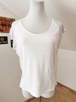 Shirt weiß Nieten Bluse M