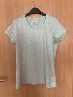 Shirt weiß/Türkis