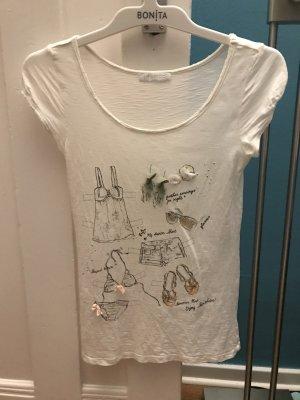 Shirt weiß von Promod, Größe 34