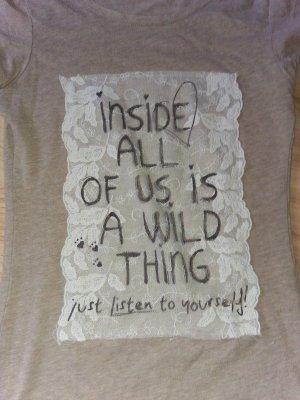 Shirt Wild thing Inside of us 36 34-36 Promod